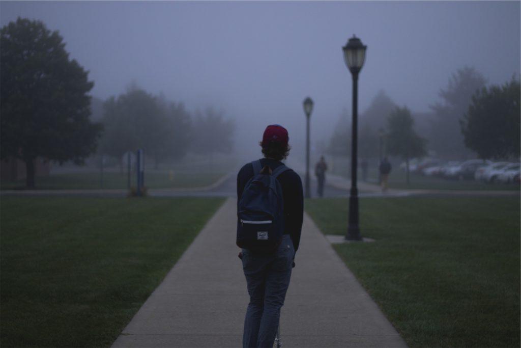 Teen alone