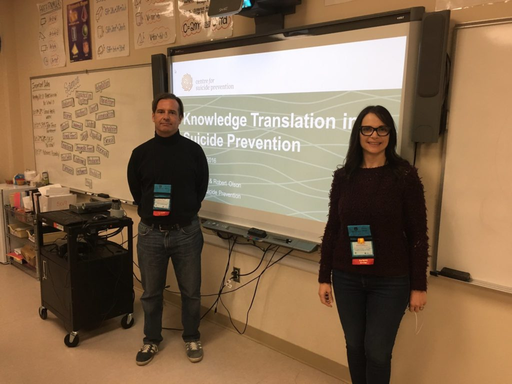 Robert Olson, Librarian and Writer and Mara Grunau, Executive Director, presented on how we make primary research accessible for the general population.