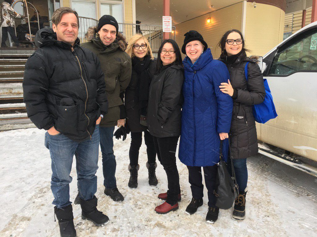 Thank you to Mayor Madeleine Redfern of Iqaluit for a tour of your wonderful city!