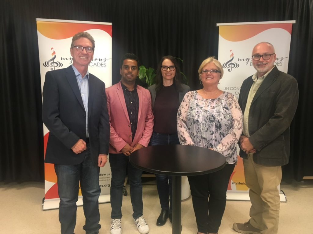 Dave Macleod, Akash Asif, Mara Grunau, Miriam Groot, and Tim Loblaw for Centre for Suicide Prevention at Mysterious Barricades.